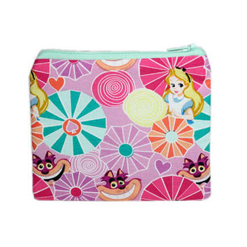Alice in Wonderland Bag | Inspired by Disney Coin Purse | Cat Change Purse