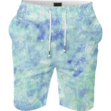 Blue lagoon Summer Short