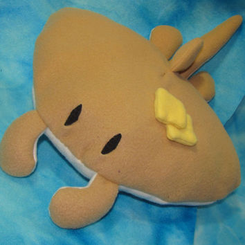 Sea pancake - tumblr inspired mantaray plushie