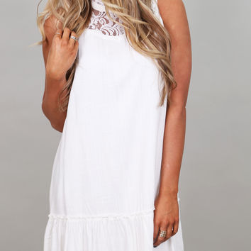 Guardian Angel Dress By BB Dakota {Ivory}
