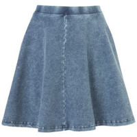 Denim Skater Skirt - New In