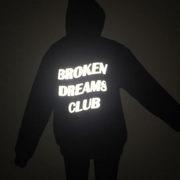 """BROKEN DREAMS CLUB"" Hooded Sweater"