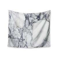 Charcoal Marble Trendy Boho Wall Tapestry
