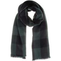 CASHMERE AND WOOL-BLEND SCARF