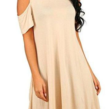 Tunic Top Loose Dress With Pockets