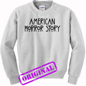 American Horror Story for sweater ash, sweatshirt ash unisex adult
