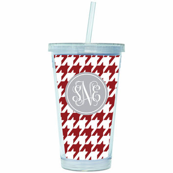 Personalized Tumbler, Monogrammed Acrylic Cup
