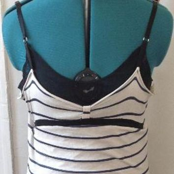 Balenciaga Striped Slip Dress Size 40