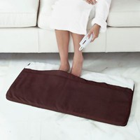 Heated Foot Warmer with Sherpa Lining