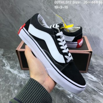 DCCK2 V020 Purlicue off white Vans Year of the pig Velcro side stripe the fat year Skate Shoes black white