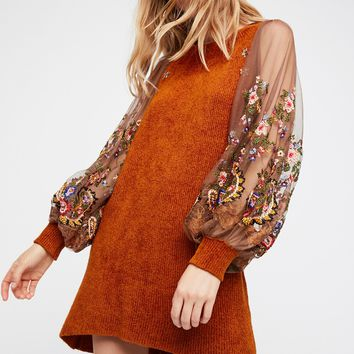 Free People Hidden Garden Tunic