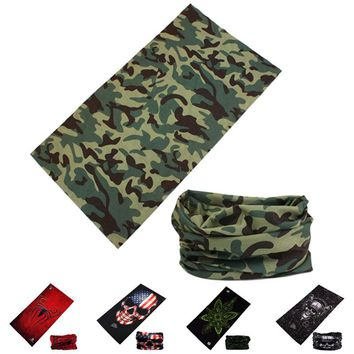 Outdoor Magic Scarf Camouflage Caps Seamless Bandana Bicycle Motorcycle Scarves Multifunctional Cycling Headband Headwear