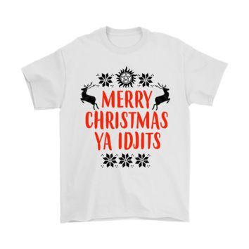 Merry Christmas Ya Idjits Supernatural Shirts