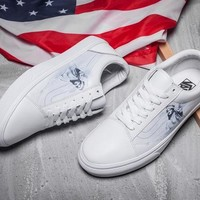 VANS Old Skool Statue of Liberty Leather Sneakers Sport Shoes