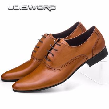 LOISWORD mens dress shoes