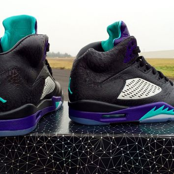 BC HCXX Custom Nike Air Jordan 3Lab5 Grape
