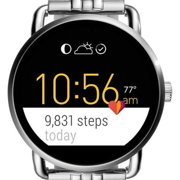 Fossil Q Wander Digital Smart Bracelet Watch, 45mm | Nordstrom