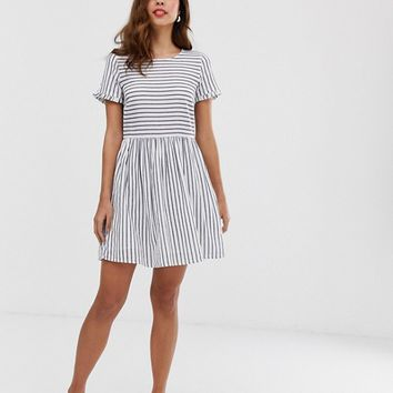 Vero Moda stripe smock mini dress | ASOS
