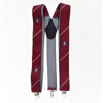 Florida State Seminoles NCAA Oxford Mens Suspenders