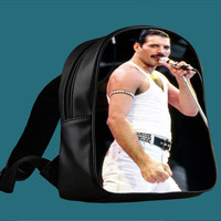 Queen Freddie Mercury for Backpack / Custom Bag / School Bag / Children Bag / Custom School Bag ***