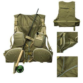 LumiParty Fishing Vests Hunting Daiwa Vest for Fishing Clothing Jackets Fishing Jacket fly Fishing vests