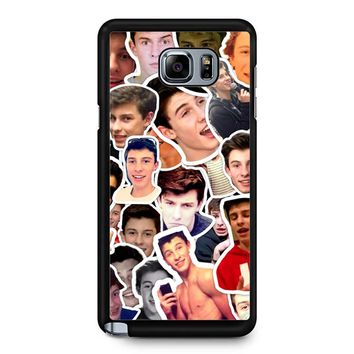 Shawn Mendes Collage 29 Samsung Galaxy Note 5 Case
