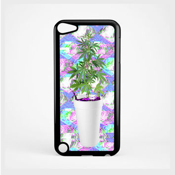 iPod Case Sizzurp and Weed Seapunk For iPod 4th Generation, iPod 5th Generation, and iPod 6th Generation
