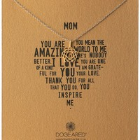 Amazon.com: Dogeared Its Personal Mom Bloom Chain Necklace