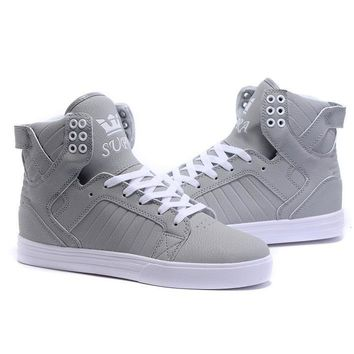 Supra Skytop Woman Men Fashion High-Top Flats Sneakers Sport Shoes Day-First™