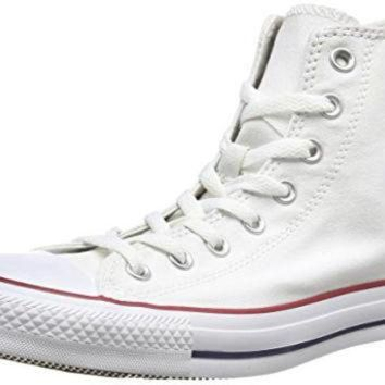 DCKL9 Converse Unisex Chuck Taylor All Star Core Hi Classic Sneaker, Optical White,...