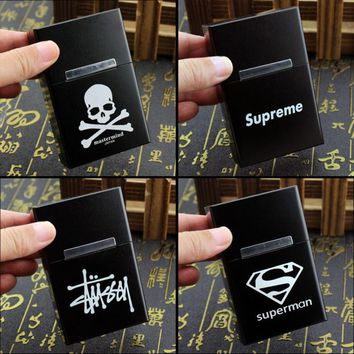 Related Product Of Supreme Stussy MMJ Skull FBI FxxK you Superman Constantine Smoking