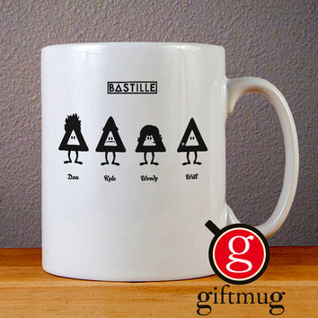 Bastille Triangle Ceramic Coffee Mugs
