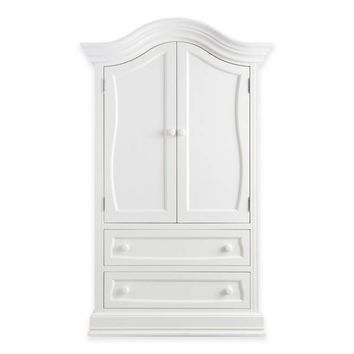 Baby Appleseed® Davenport Armoire in Pure White