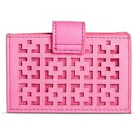 Women's Square Cut Out Credit Card Holder Wallet : Target