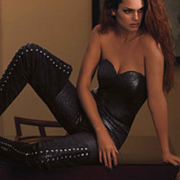 TARYN LACE UP THIGH HIGH BOOTS