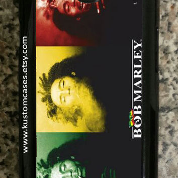 Samsung Galaxy S3 Bob Marley Hard Snap on Samsung Galaxy S3 Case Available in Black or White