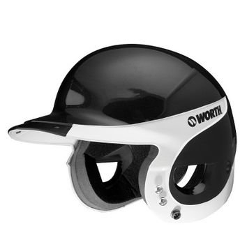 Worth WLBHA Liberty Away Batter's Helmet with SBWG2 Mask