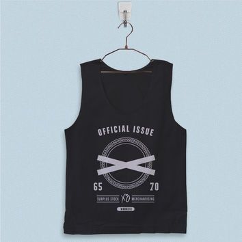 Men's Basic Tank Top - Official Issue XO The Weeknd