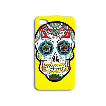 Skull Candy Case Floral Skull Case Day of the Dead Case Scary iPhone Case Cool iPod Case iPhone 5 Case iPhone 4 Case iPhone 5s Case Cover