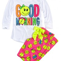 Good Morning Pajama Set