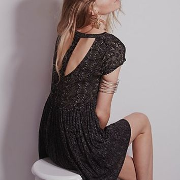 Free People Womens Sundown Babydoll Dress