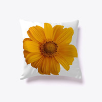 Beautiful Flower Decorative Pillow