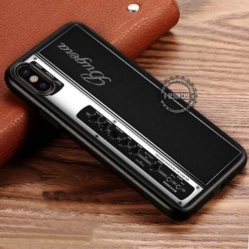 Retro Amplifier iPhone X 8 7 Plus 6s Cases Samsung Galaxy S8 Plus S7 edge NOTE 8 Covers #iphoneX #SamsungS8