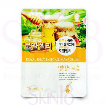 natureby Royal Jelly Essence Mask Sheet