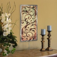 Tuscan Scroll Wall Sconce Light (8822) - Illuminada