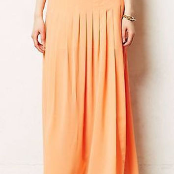 NWT Anthropologie Zocalo Maxi Skirt Sz L - By Maeve