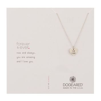 Dogeared | Forever 'For Ever' Heart Pendant Necklace | Nordstrom Rack