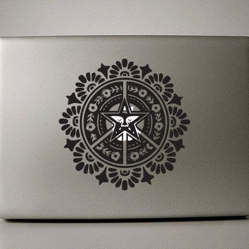 Obey me Macbook sticker Macbook pro decal Macbook air decal Apple decal sticker