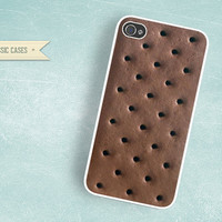 iPhone 5 Hard Case Ice Cream Sandwich Vanilla Bar Phone Case iPhone 4 iPhone 4s