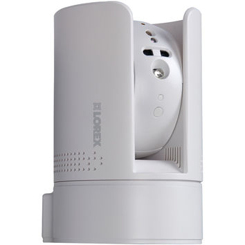 Lorex Pan And Tilt Wi-fi Or Wired 720p Hd Camera With Cloud Connect